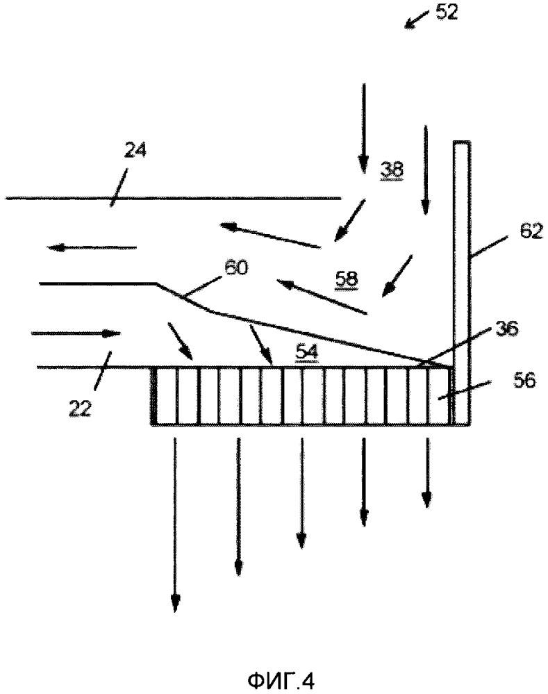 Полка с воздуховодом для прилавка-витрины с открытой передней частью (варианты)