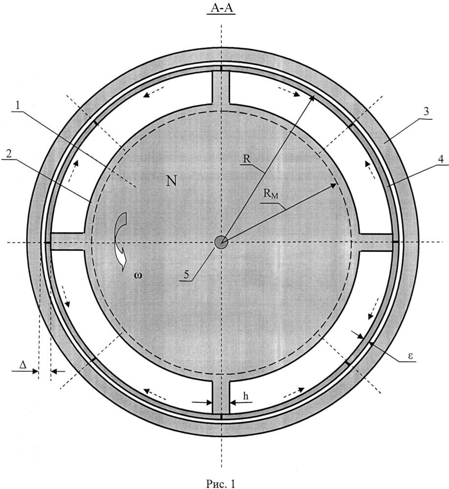 Многосекционный двигатель постоянного тока с кольцевыми скользящими контактами