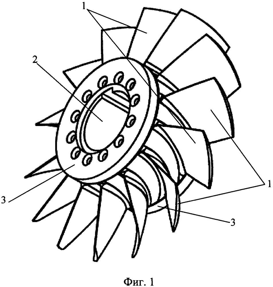 Узел соединения композитной лопасти с металлической ступицей гребного винта