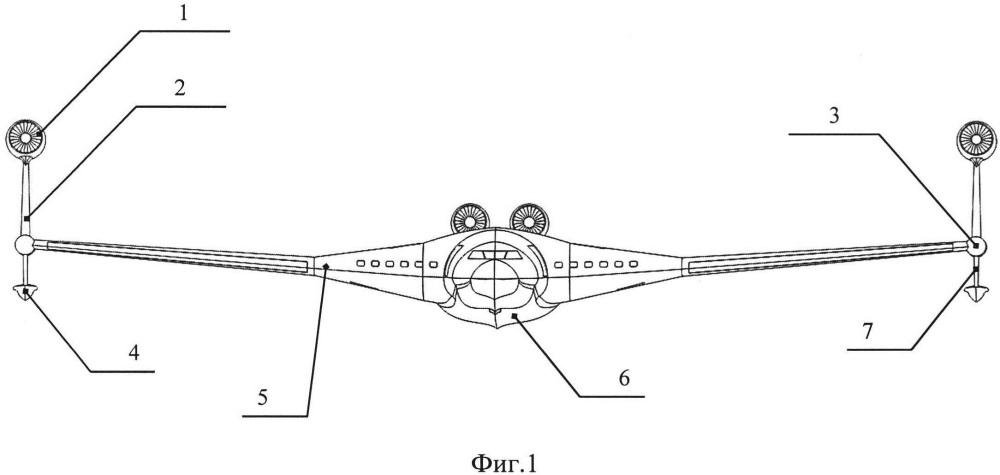 Самолет-амфибия схемы летающее крыло