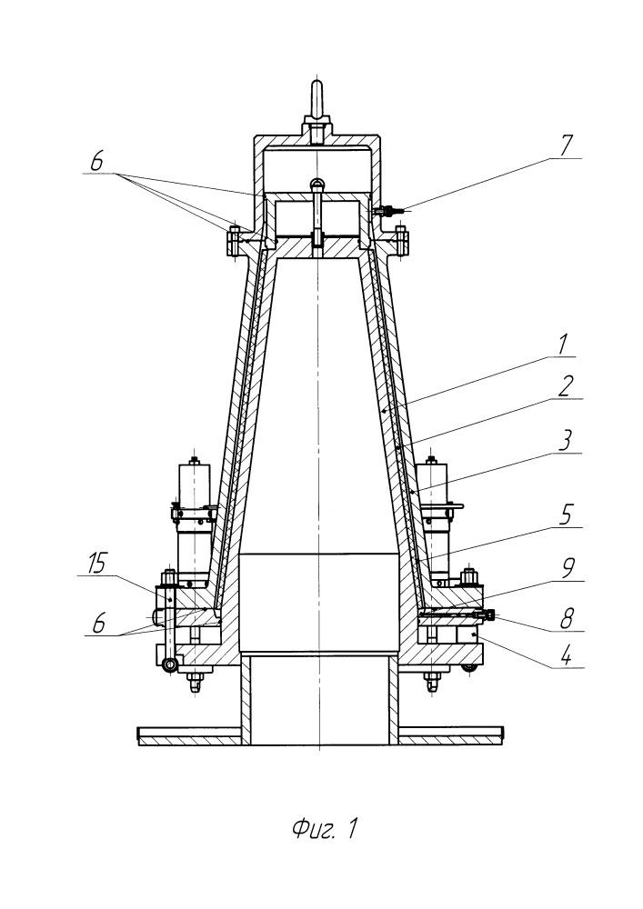 Способ изготовления конического обтекателя из композиционного материала и устройство для его осуществления