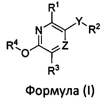 Замещенные пиридиновые и пиразиновые соединения в качестве ингибиторов pde4