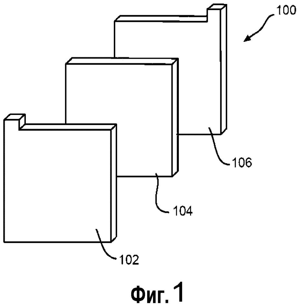 Мат из сочетания грубых стекловолокон и микростекловолокон, используемый в качестве сепаратора в свинцово-кислотной аккумуляторной батарее