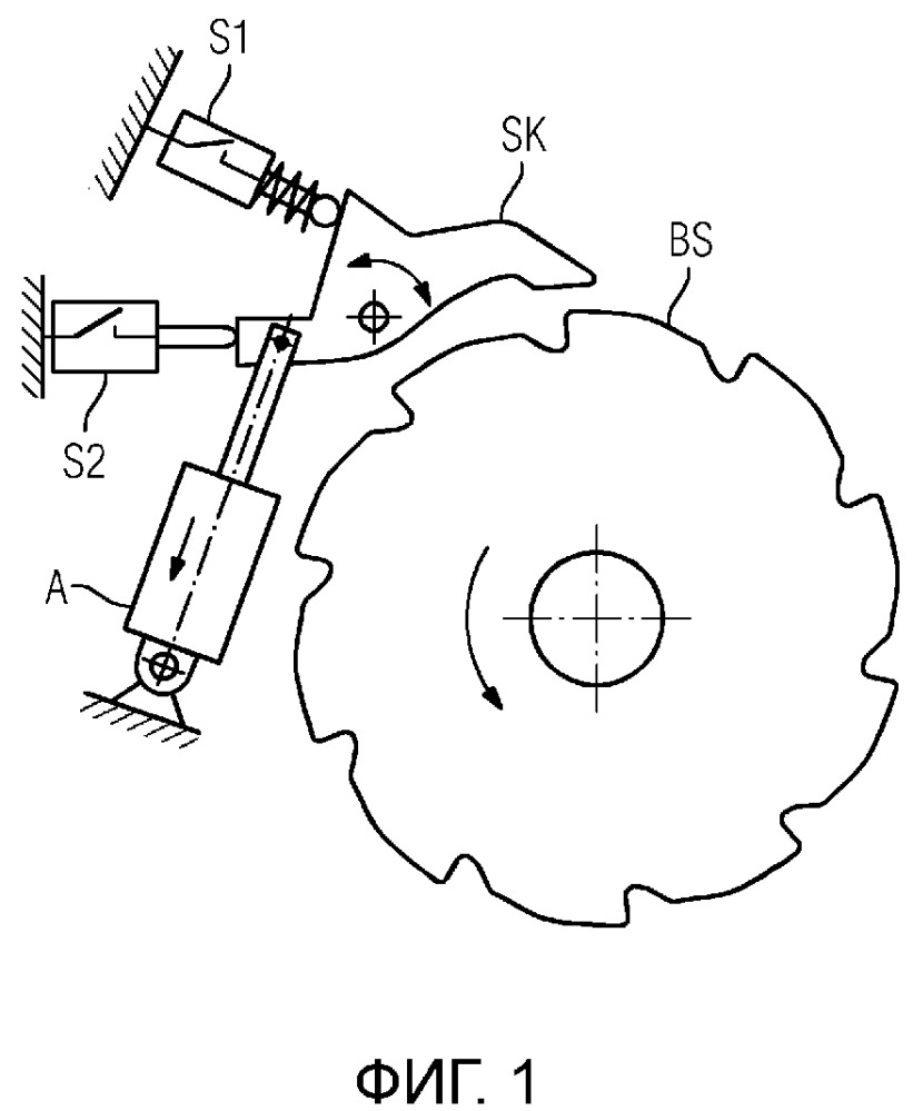 Предохранительный тормоз для подъемного механизма