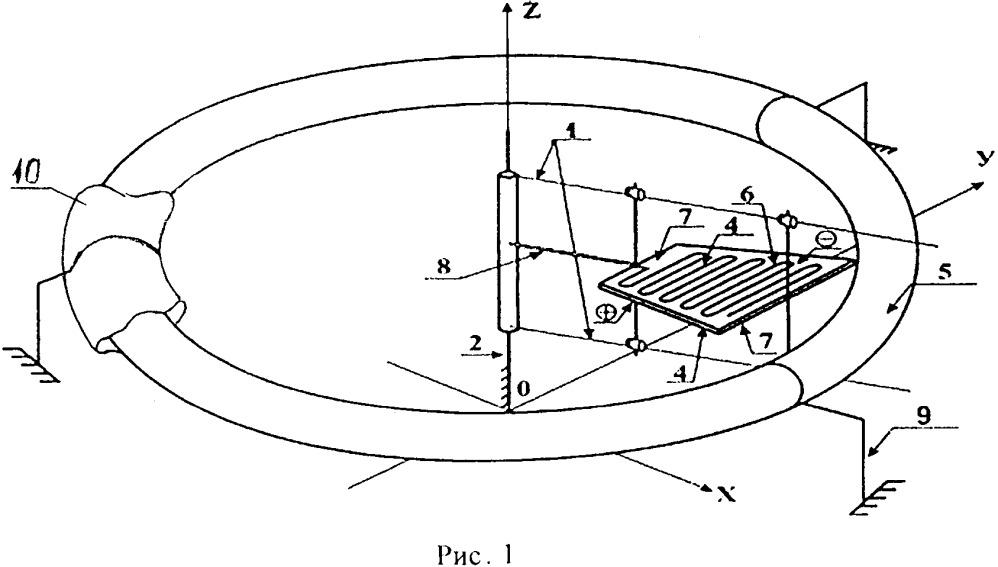 Устройство для получения силы, действующей в заданном направлении, путем организации взаимодействия движущихся электрических зарядов