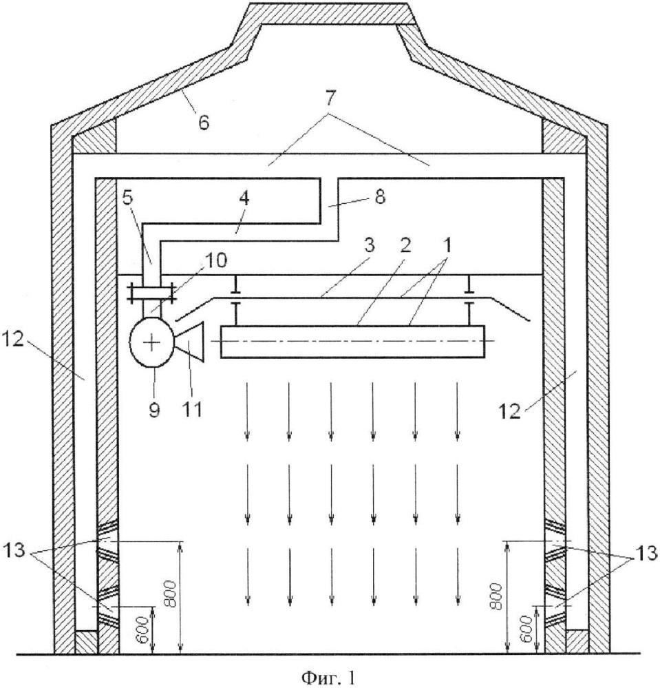 Система лучистого отопления здания