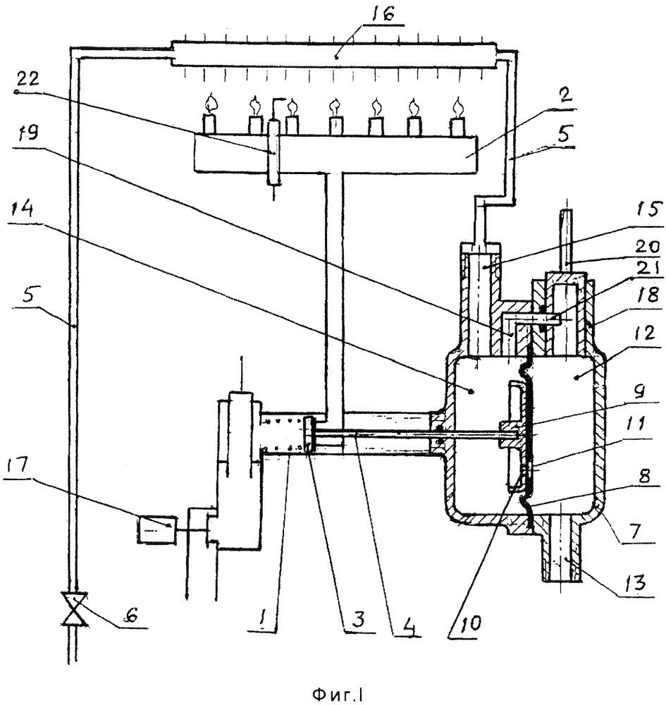 Устройство для регулирования работы проточного газового водонагревателя