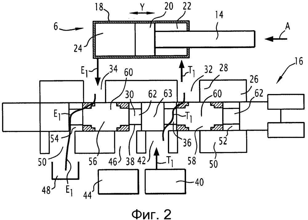 Управляющее устройство для управления перемещением гидравлического цилиндра, система управления перемещением кольцевого затвора гидравлической машины и гидравлическая машина