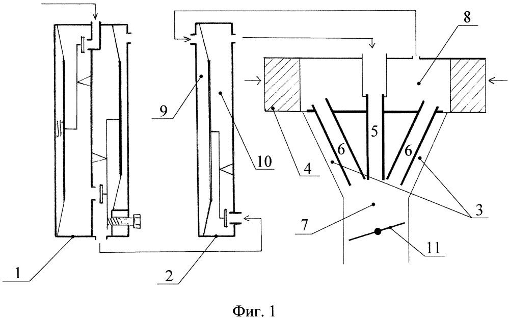 Способ формирования рабочей смеси газового двигателя и вариант устройства системы питания