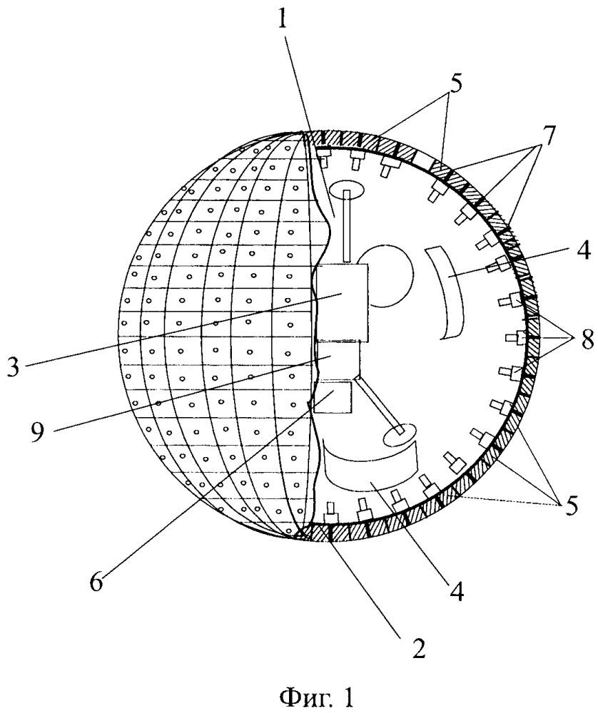 Способ предотвращения контакта космического аппарата с активно сближающимся объектом
