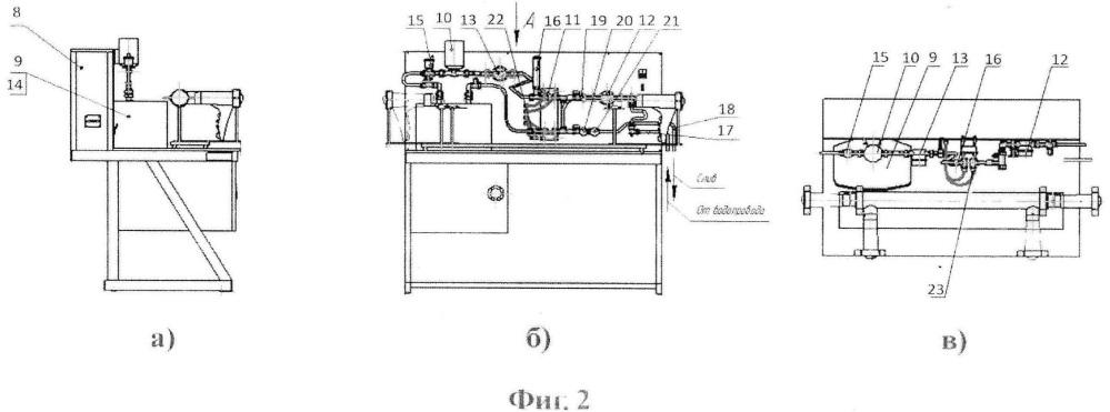 Устройство стендового автоматизированного лабораторного комплекса для изучения процессов теплообмена