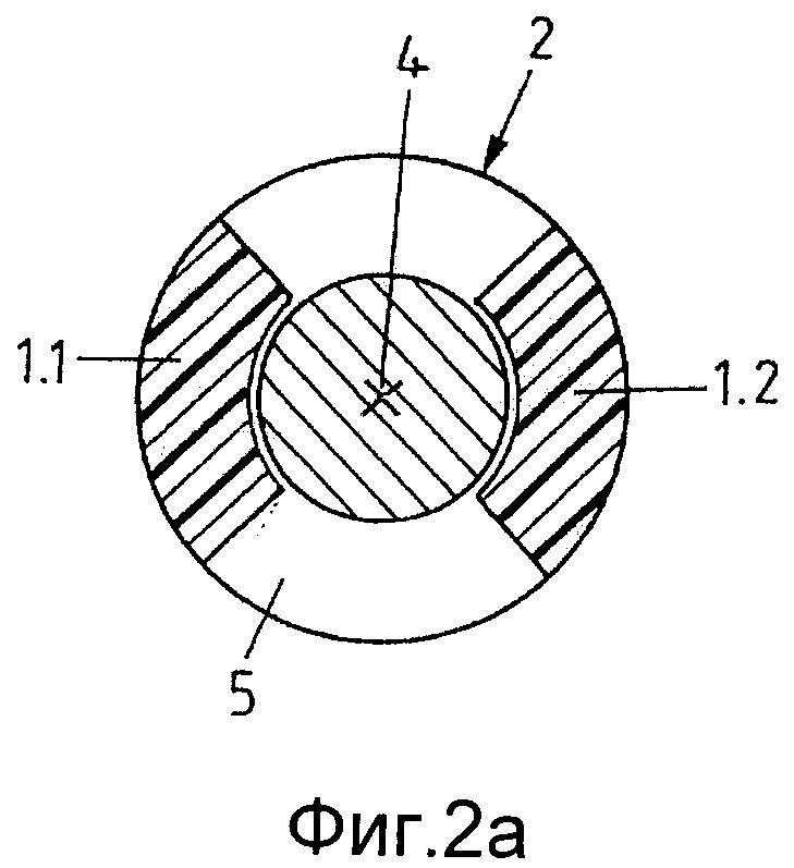 Способ и устройство упрочнения и/или покрытия изнутри материала