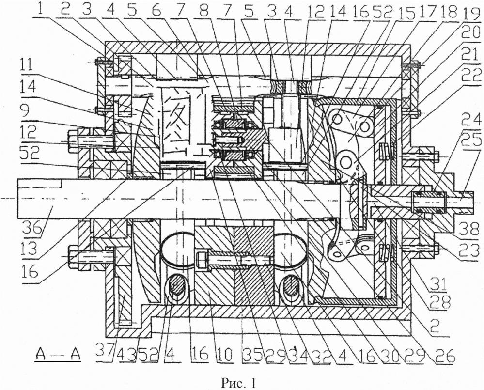 Бесступенчатая коробка передач, установленная со стороны ходового винта для регулирования скорости
