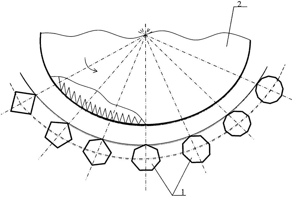 Колосниковая решетка очистителя волокнистого материала