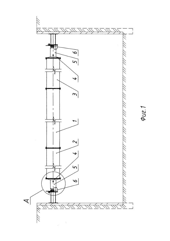 Расстрел сборно-разборный многократного использования для крепления временных стен котлованов