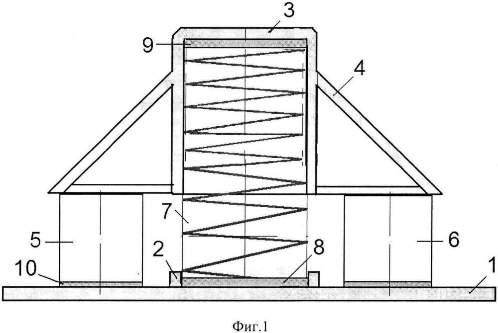 Двухступенчатый виброизолятор