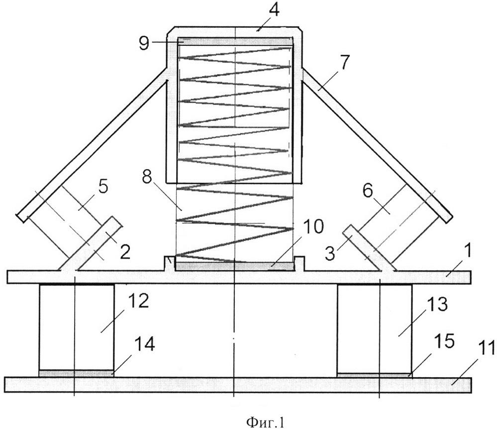 Пространственный цилиндроконический виброизолятор