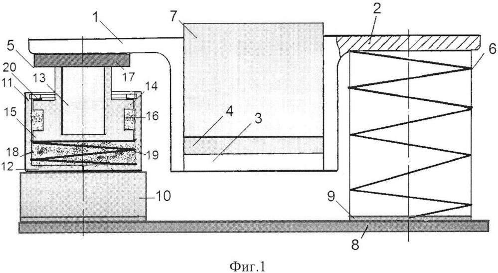 Виброизолятор рессорного типа