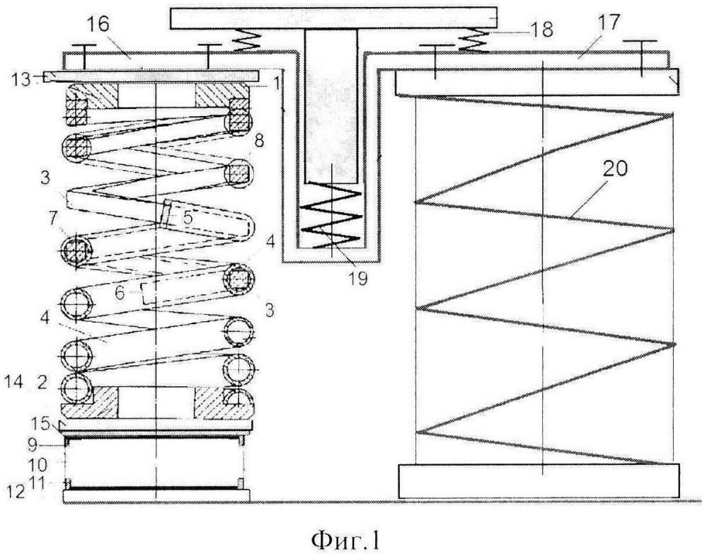 Пространственный виброизолятор