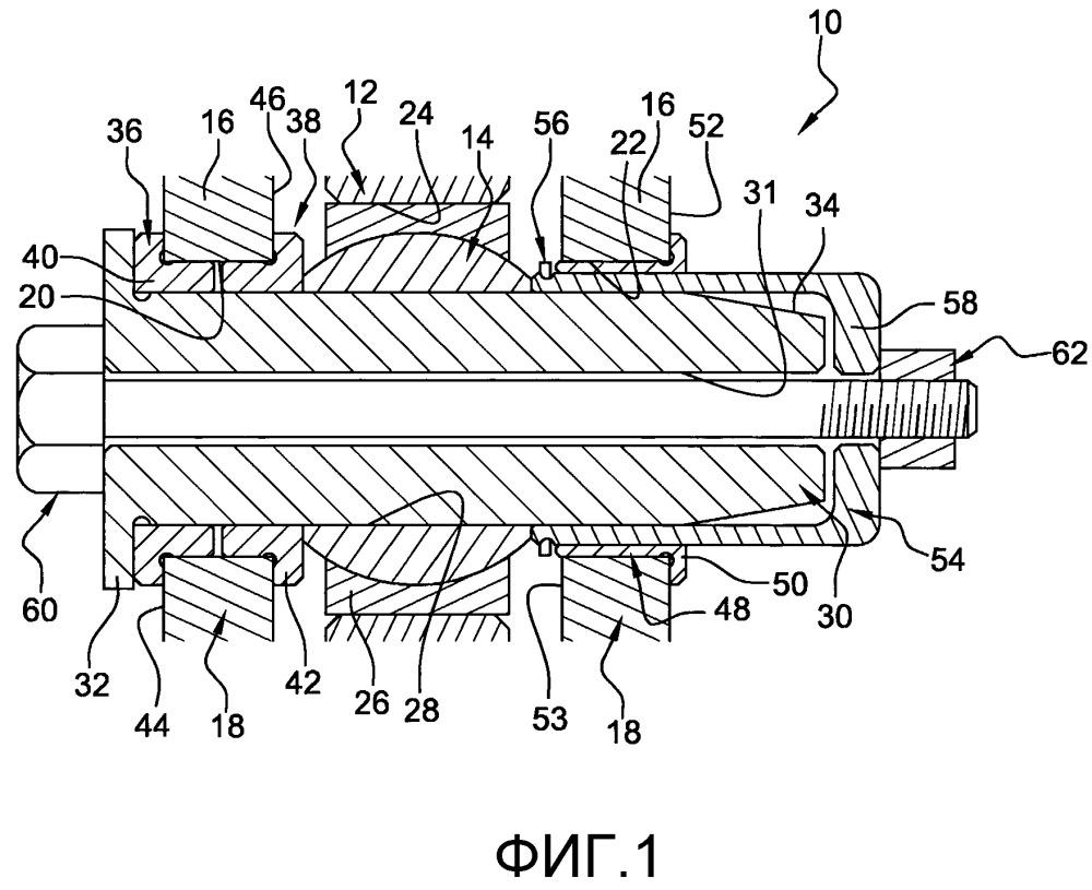 Шарнирное шаровое устройство для подвески турбомашины к пилону или подвески оборудования к корпусу турбомашины