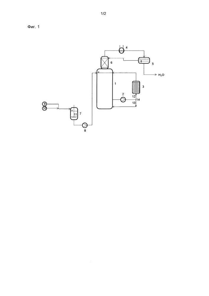 Способ получения сложных диэфиров терефталевой кислоты с перекачиванием реакционной смеси