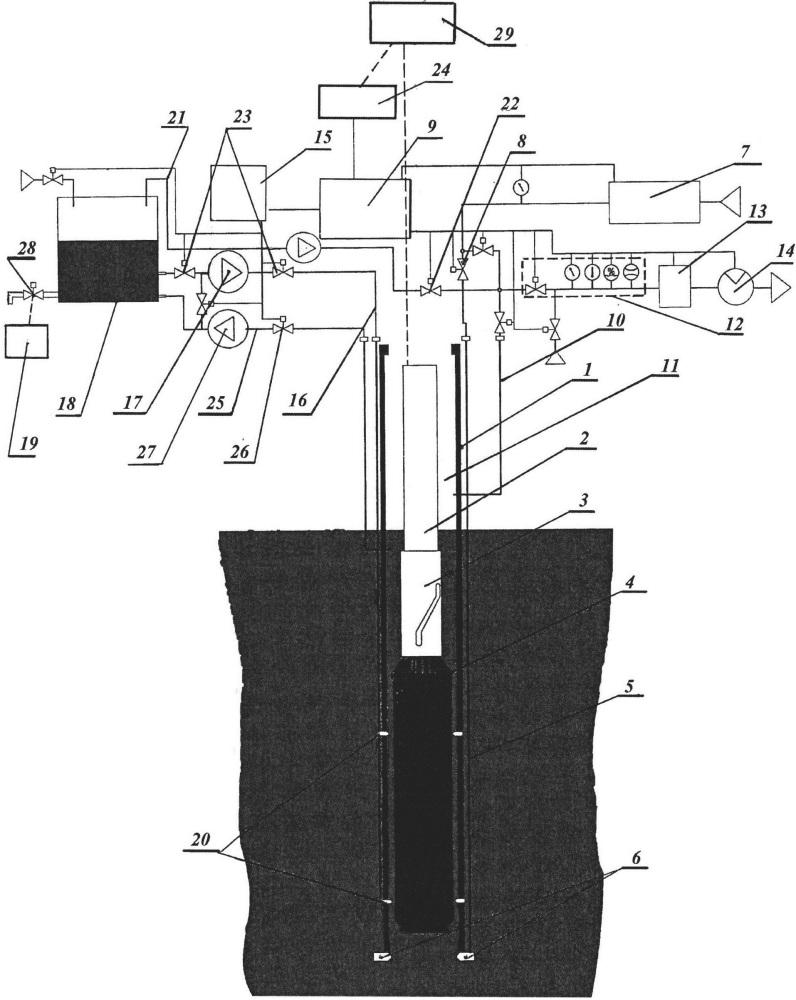 Способ оперативного контроля герметичности топливных сборок водо-водяного реактора при его перегрузке и система для реализации способа