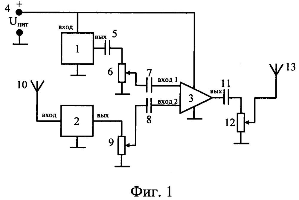 Устройство для защиты автоматизированных систем от утечки информации по каналам побочных электромагнитных излучений