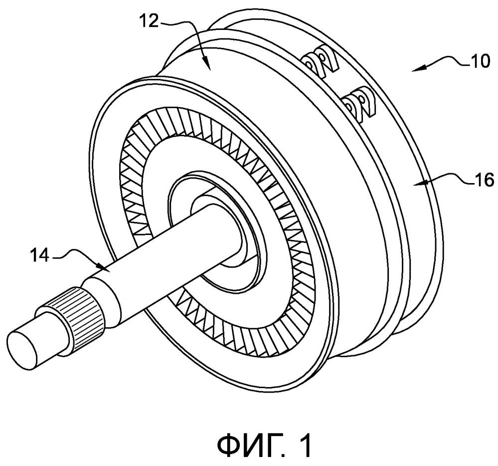 Устройство очистки модуля газотурбинного двигателя