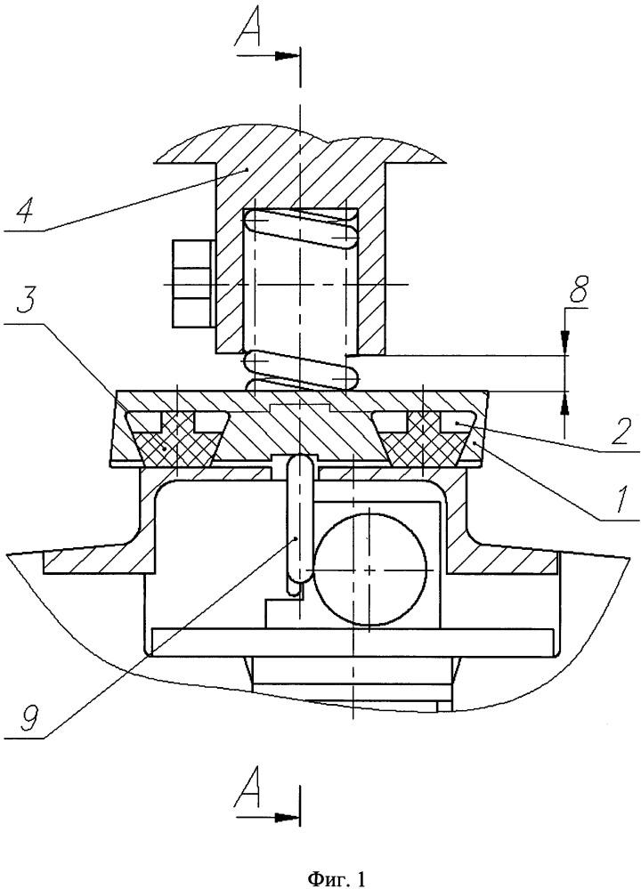 Уплотнительное устройство для герметизации элементов отделяемых летательных аппаратов