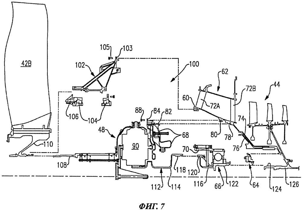 Способ технического обслуживания газотурбинного двигателя (варианты) и газотурбинный двигатель