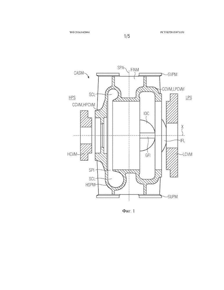 Способ изготовления литого корпуса радиальной турбогидравлической энергетической установки, сборная литейная модель корпуса (варианты), типовой ряд корпусов