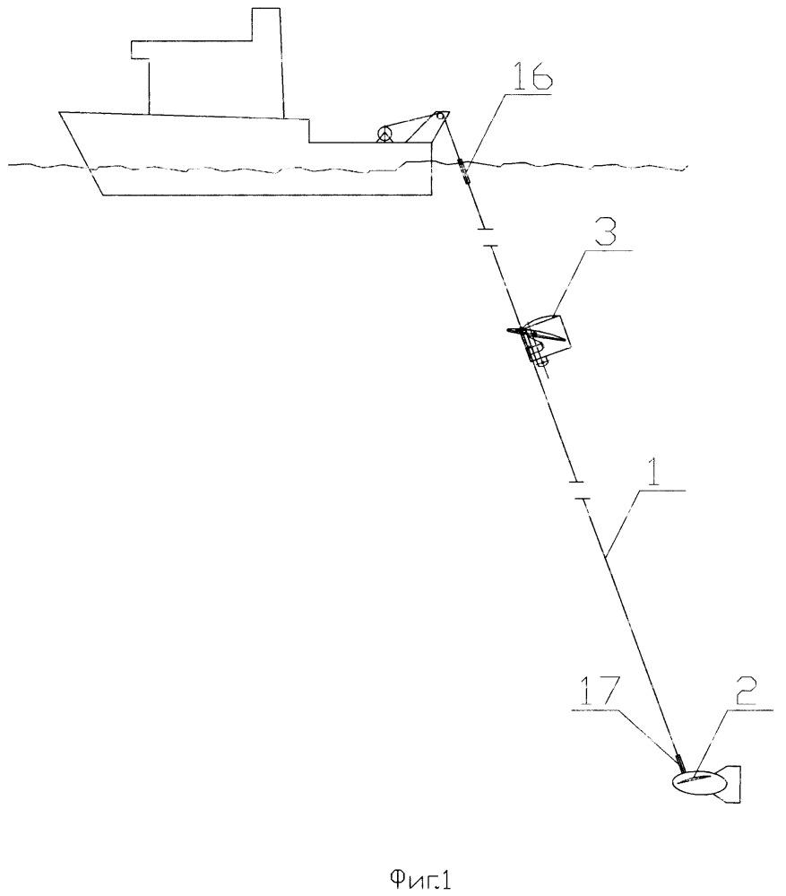Измерительная система для определения параметров водной среды на ходу судна (варианты)