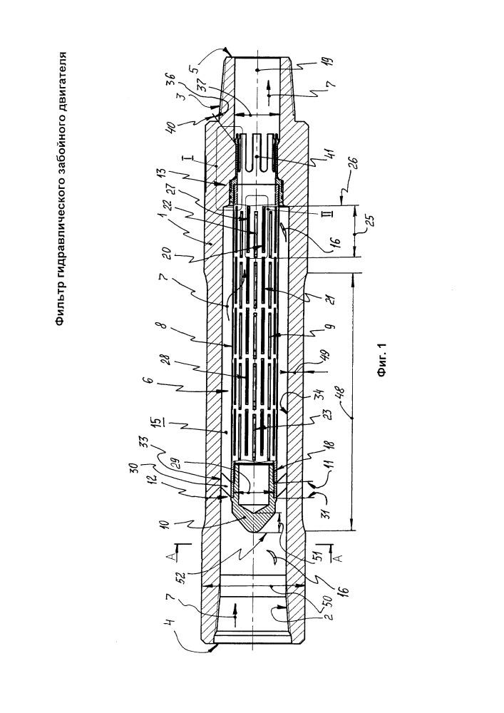 Фильтр гидравлического забойного двигателя
