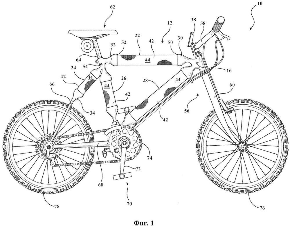 Велосипед, способ его сборки и способ его хранения