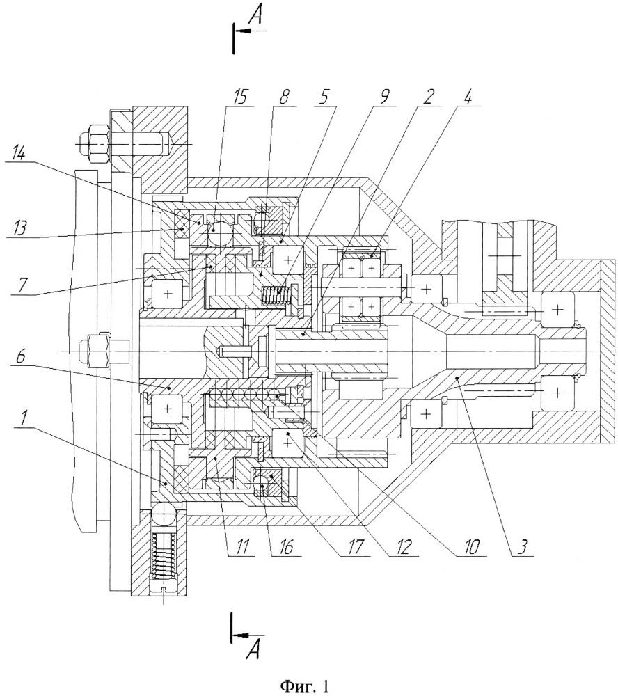Двухскоростная автоматическая планетарная передача