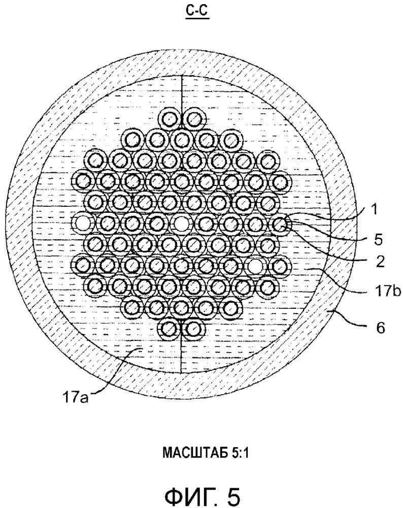 Нагревательный элемент и технологический нагреватель