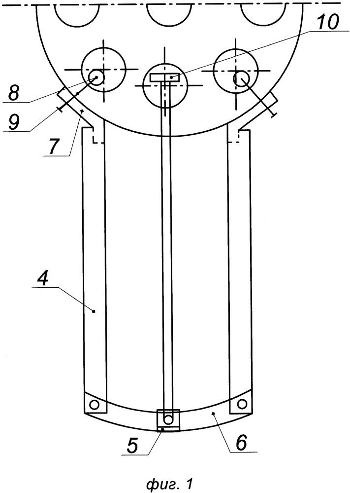 Ротор сегментного ветроэлектрогенератора