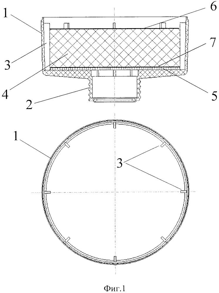 Фильтрующе-поглощающая коробка