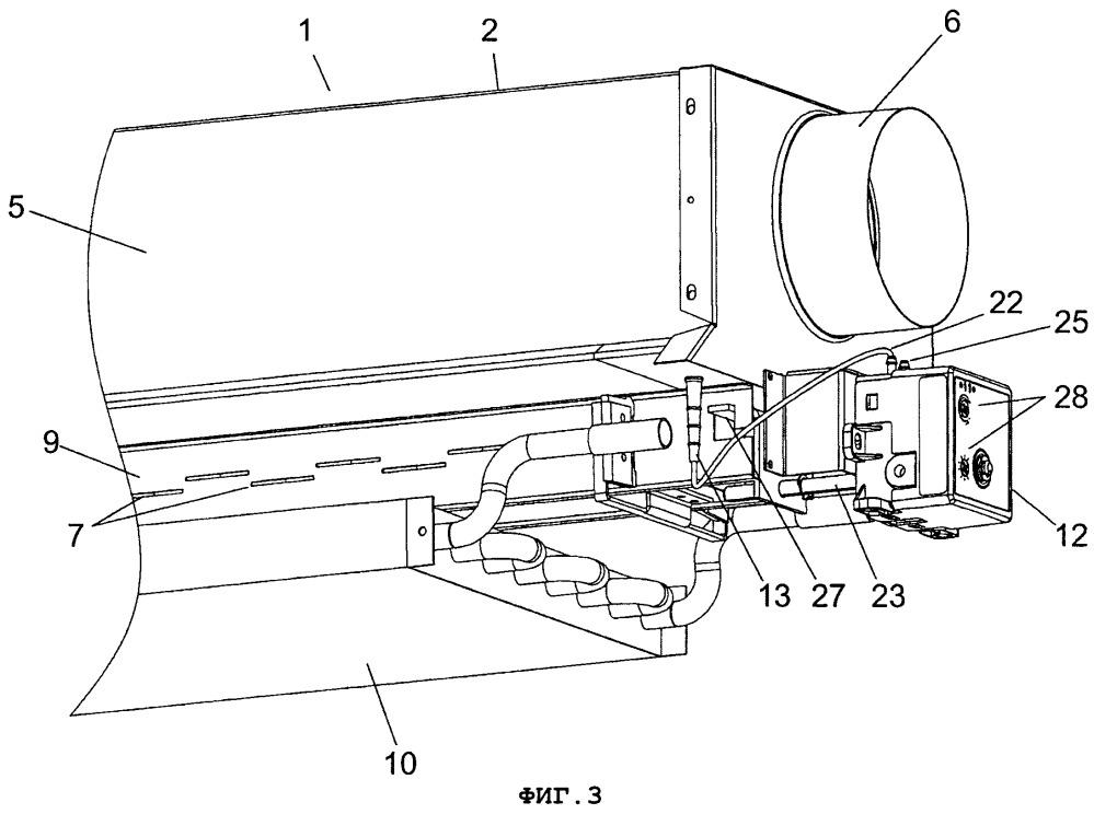 Устройство и способ управления подачей воздуха в системе обработки воздуха