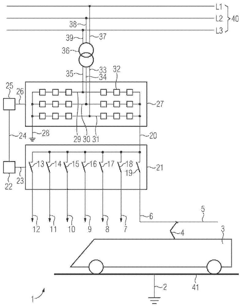 Устройство для тягового электроснабжения и способ эксплуатации устройства