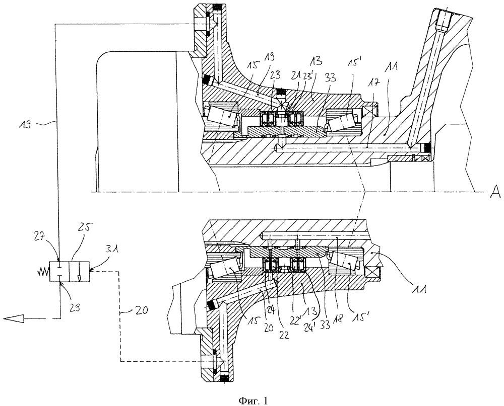 Вращающееся соединение для колеса грузового автомобиля