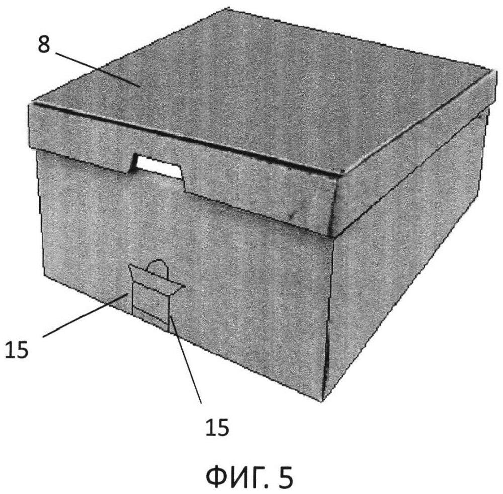 Упаковка и колонна из этих упаковок