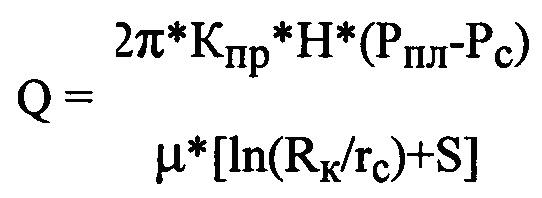 Способ определения гидродинамических параметров продуктивных пластов