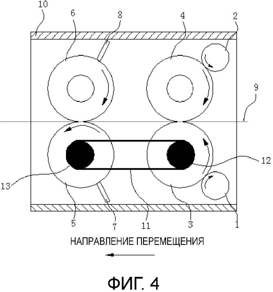 Устройство для детектирования инородного объекта, прикрепленного на поверхности листовидного носителя