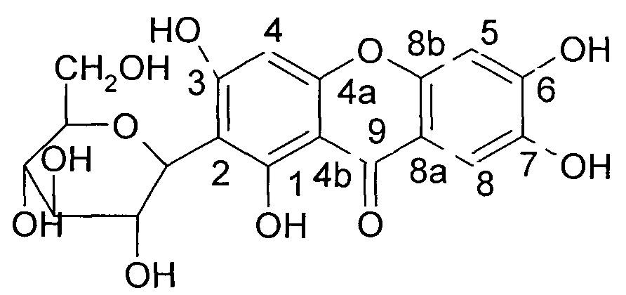 Соль мангиферин-6-о-берберина, способ ее получения и применение