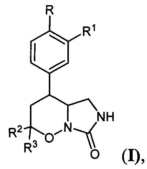 Замещенные 4-арил-гексагидро-7н-имидазоло[1,5-b][1,2]оксазин-7-оны и способ их получения
