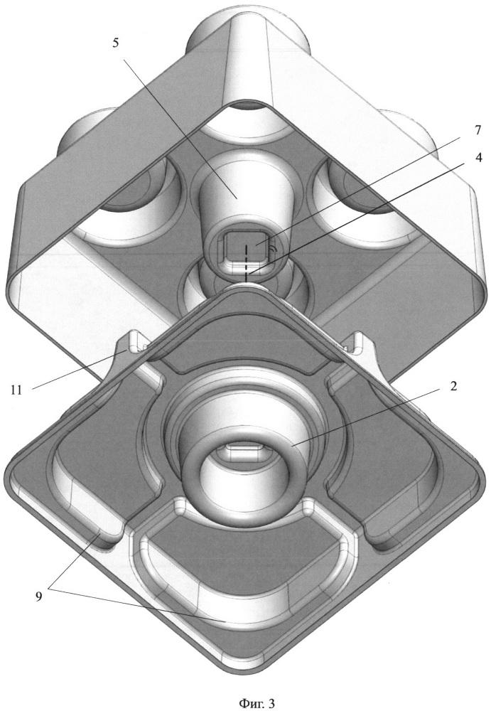 Строительный блок конструктора