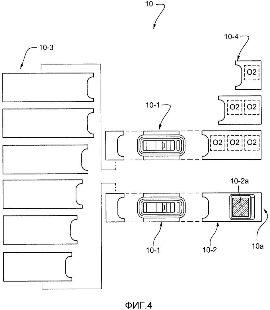 Модульные блоки обслуживания пассажиров и их узлы