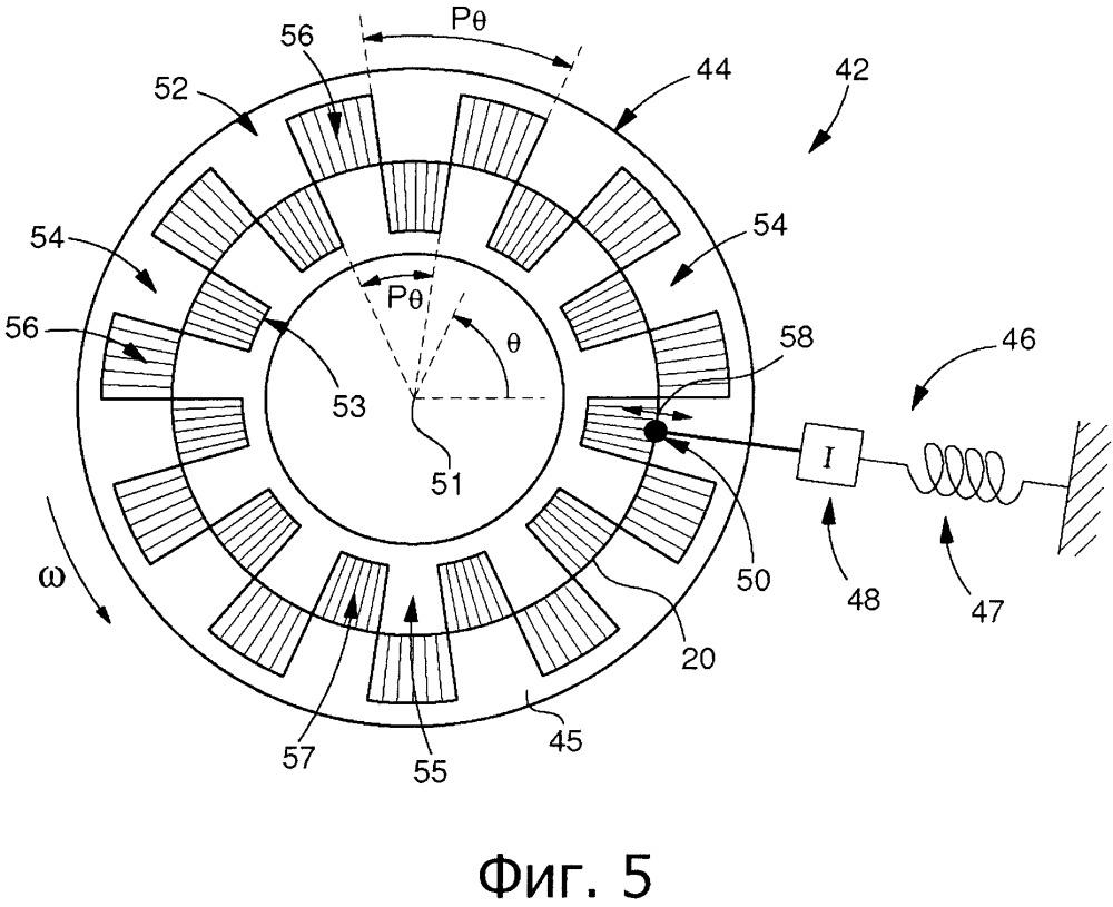 Устройство регулирования угловой скорости колесного узла в часовом механизме, включающем магнитный спусковой механизм
