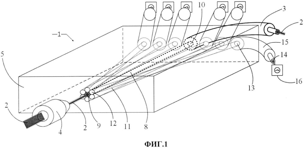Оптический элемент стабилизатора фокусировки излучения в оптическое волокно